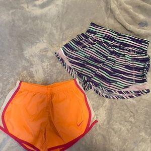 Nike & Athletic Works Size 7/8 Girls Short Bundle